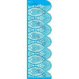 Stencil de Acetato OPA 10x30cm - OPA 2618 - Negativo Renda IV