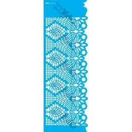 Stencil de Acetato OPA 10x30cm - OPA 2619 - Negativo Renda V