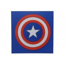 Quadro Decorativo Super Heróis - Capitão América
