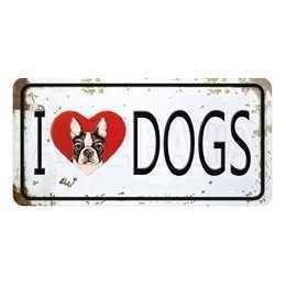 Aplique em Papel e MDF - LMAPC444 - I Love Dogs