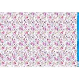 Papel para Decoupage PD1009 - Buque de Rosas Cor de Rosa