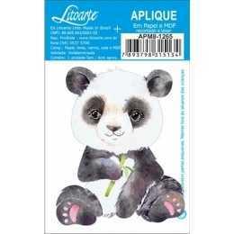 Aplique em Papel e MDF - APM8 - 1265 - Urso Panda