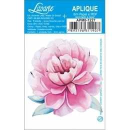 Aplique em Papel e MDF - APM8 - 1227 - Rosa cor de Rosa