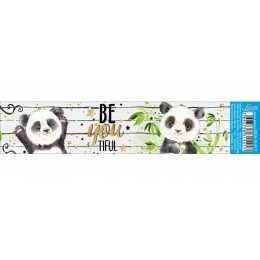 Barra Adesiva para Decoupage BDAIV817 - Urso Panda