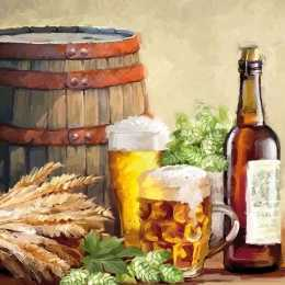 Guardanapo Barril e Cerveja (106)