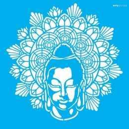 Stencil de Acetato OPA 30,5x30,5cm - OPA 2730 - Mandala Buda
