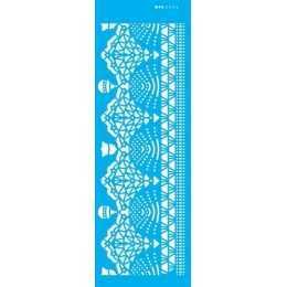 Stencil de Acetato OPA 10x30cm - OPA 2734 Renda Pinheiro Natal