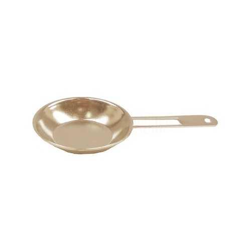 Miniatura de Ferro - Frigideira - Dourada (Latonado)