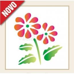 OPA0778 - Flores II - 10x10cm