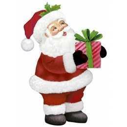 Aplique em Papel e MDF - APMN8-146 - Papai Noel - 1 unidade