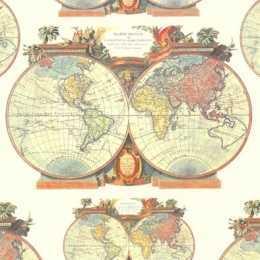 Guardanapo Mapa Mundi (939)