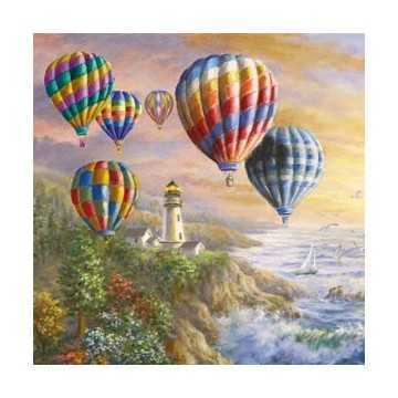 Guardanapo Balões Coloridos...
