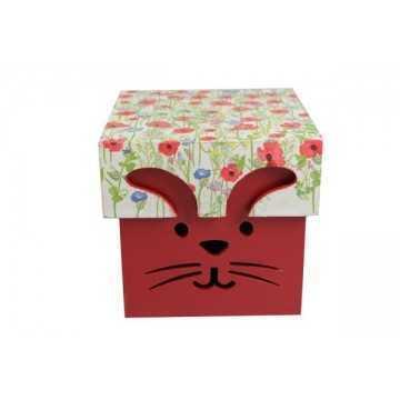 Caixa Coelho Vermelha