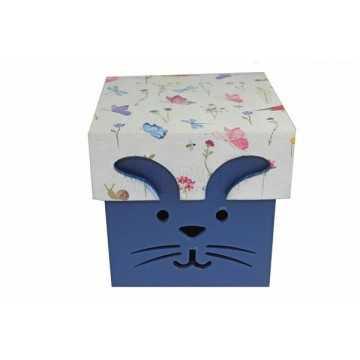 Caixa Coelho Azul