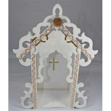 Oratório - Branco e Dourado