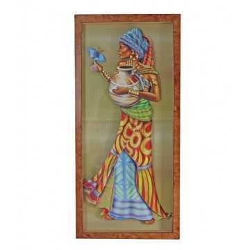 Quadro Africana - Arte...
