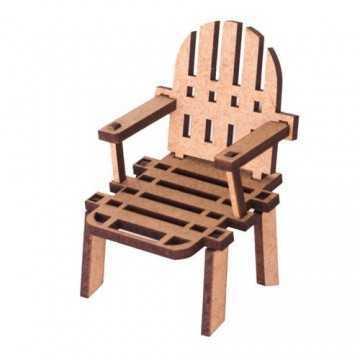 Miniatura em MDF - Cadeira...