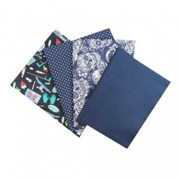 Kit de Tecidos - 01 - Azul...
