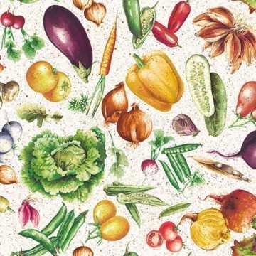 Guardanapo Legumes e...