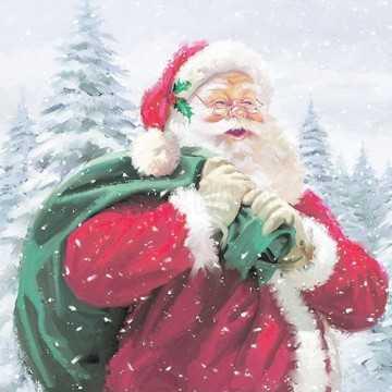 Guardanapo Papai Noel com...