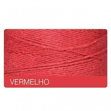 Barbante 420m - Nº8 - Vermelho