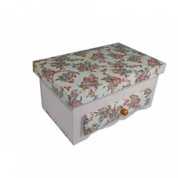 Caixa de Biju - Rosa Bebê...