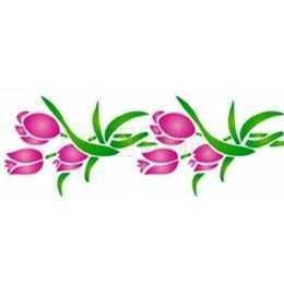 OPA 0972 - Flores Tulipas - 10x30cm