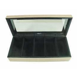 JL-Caixa para Relógio Flocada 05dv Com Vidro