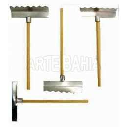 Miniatura de Madeira e Alumínio - Rastelo - 10 unidades