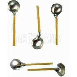 Miniatura de Alumínio - Concha - 10 unidades