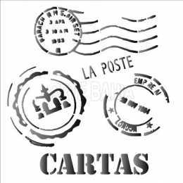OPA 1135 Cartas - 14x14cm