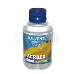 Solvente 100ml - Acrilex