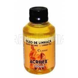 Oleo   de Linhaça 100ml - Acrilex