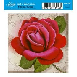 AFX350 - Rosa Vermelha com Galho