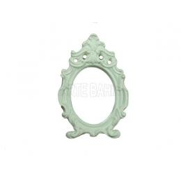 904 - Moldura com Espelho - Romana - 11x16,5cm