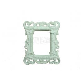990 - Moldura com Espelho - Havana - 11,5x13,5cm