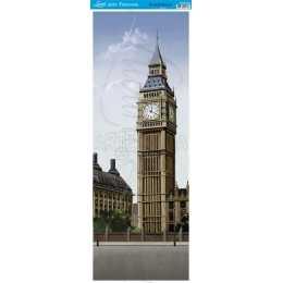 Papel para Arte Francesa 23x62cm - AFVE053-Relógio Big Ben
