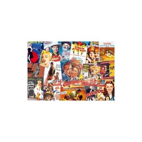 Papel para Decoupage LD718 - Cartazes de Cinema