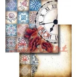 LSCD255 - Relógio e Azulejos