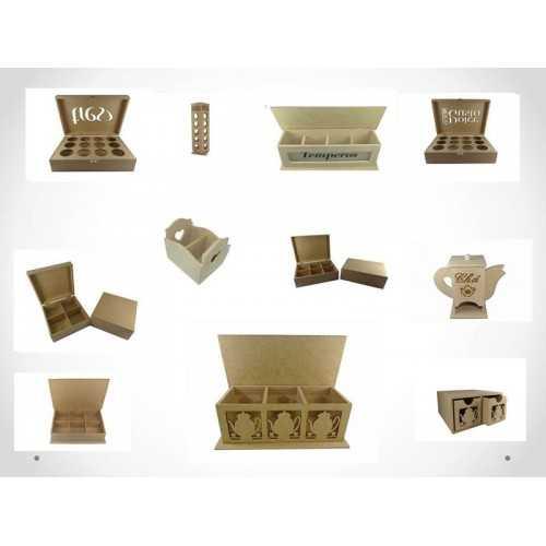 Caixa de Chá, Suco, Knorr, Gelatina, Porta Adoçante