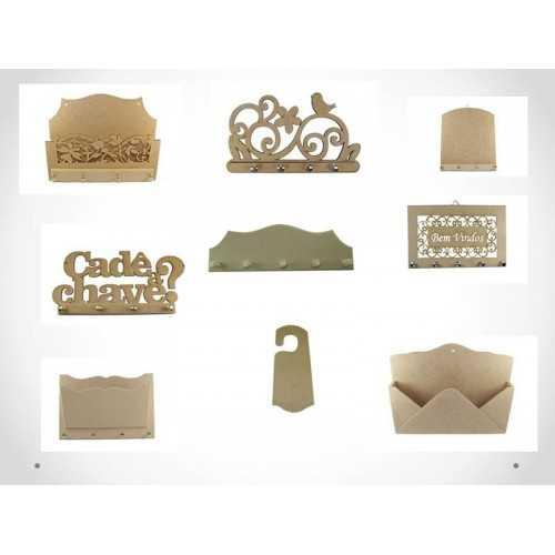 Porta: Carta, Chaves, Cabides